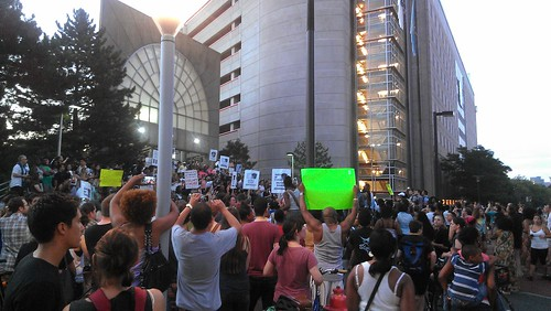 Rally for Justice for Trayvon Martin