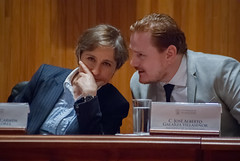 Carmen Aristegui recibe el galardón 'Corazón de León' ⑨