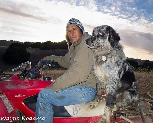 Trail Portrait 003 - Renald and Checkers