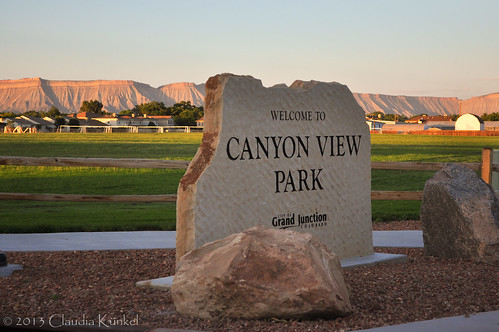 sign colorado grandjunction canyonviewpark