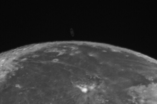 Occultation of Saturn by the Moon | The Lined Wolf