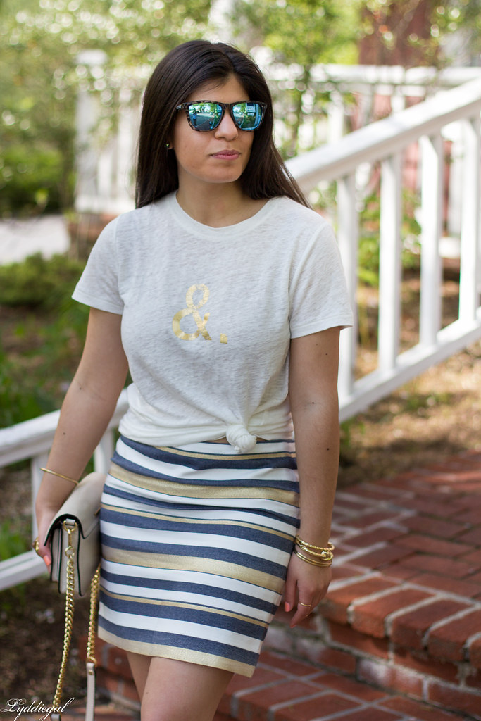 ampersand tee, striped skirt-5.jpg