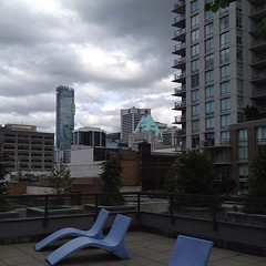 Patio in Downtown Vancouver