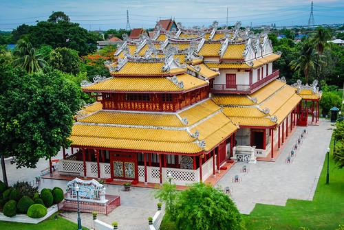 thailand ayutthaya พระราชวังบางปะอิน bangpainroyalpalace