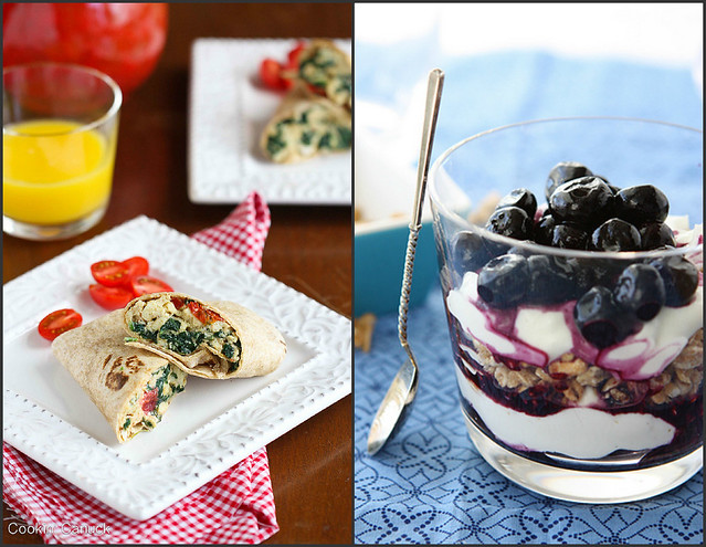 Healthy Breakfast Recipes | cookincanuck.com #vegetarian