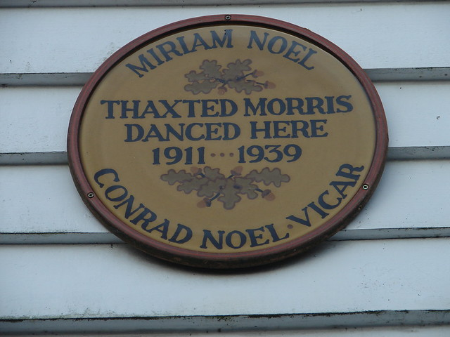 Photo of Miriam Noel and Conrad Noel brown plaque