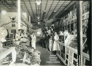 Sauter's grocery store circa 1920