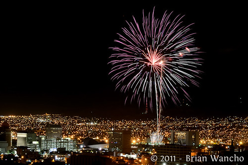 Street Festival Fireworks