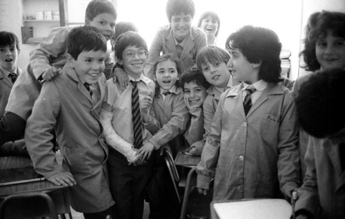 John Dewey school, Santiago, 1989