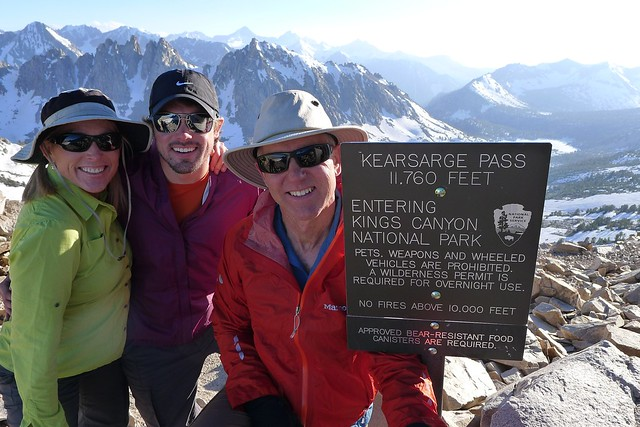 Top of Kearsarge Pass