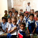 Young Boys and Girls at Rural School - Hatiandha, Bangladesh