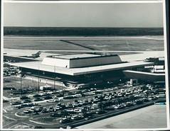 JAX Airport Terminal circa 1968.