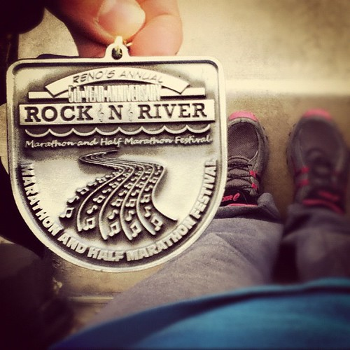 5k!! My first. #reno #rockingriver. #rootsandwings #nowyouworkshop #fromwhereistand #wings