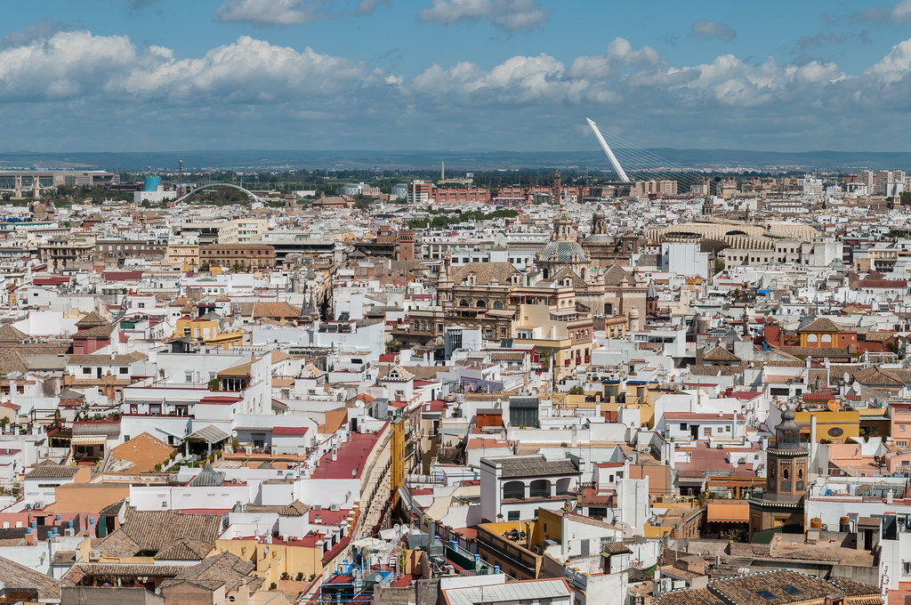 City of Seville - view from Giralda