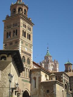 Vista exterior de la Catedral, conjunto declarado Patrimonio de la Humanidad.