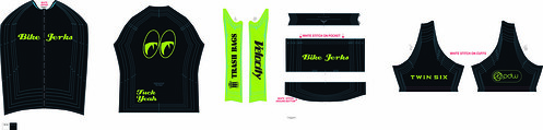 Bike Jerks Jersey Green