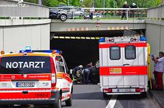 Schwerer Verkehrsunfall Moltkering 10.05.12