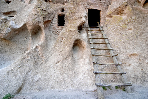 Anasazi ruins near Los Alamos
