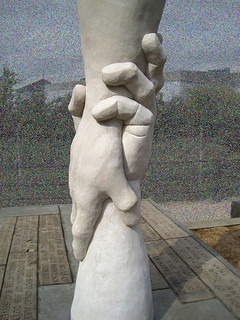'Helping Hands', by Alec Peever (2011)