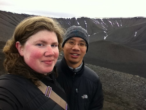 Celebrating Our Sixth Anniversary by Hiking Up a Volcanic Crater