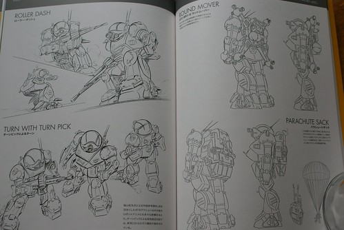 Armored Trooper VOTOMS Master Book - SCOPEDOG 21C - 7