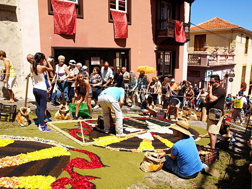 Corpus Christi Flower Carpets, La Orotava