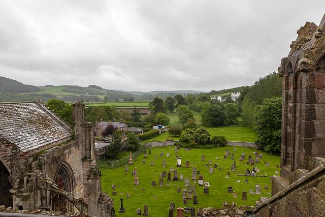 Melrose Abbey, Scotland by su1droo via Flickr
