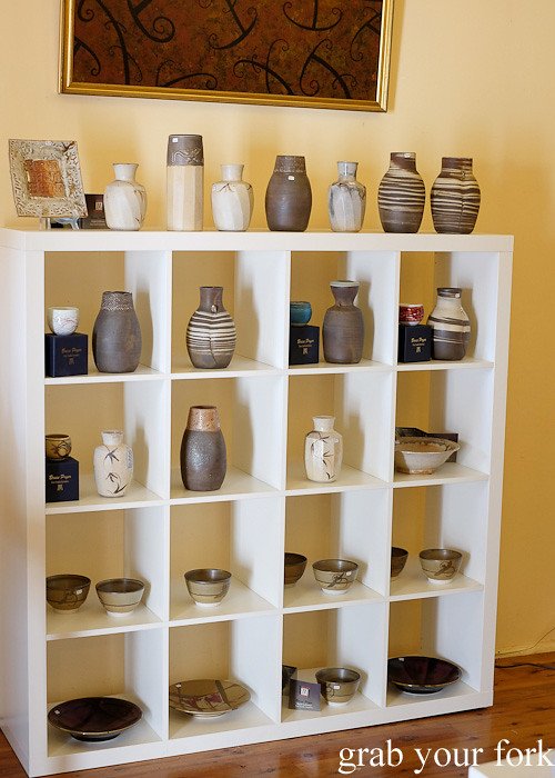 Handmade ceramics at Bruce Pryor's Kilns, Bundanoon Pottery and Gallery