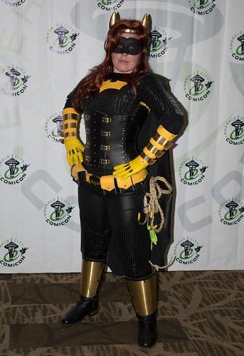 Medieval Batgirl
