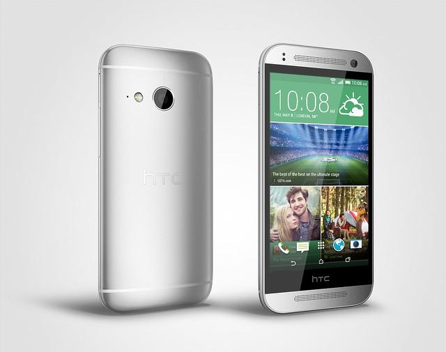 HTC One mini 2月光銀