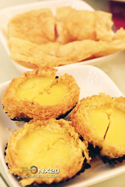 xin cuisine egg tart