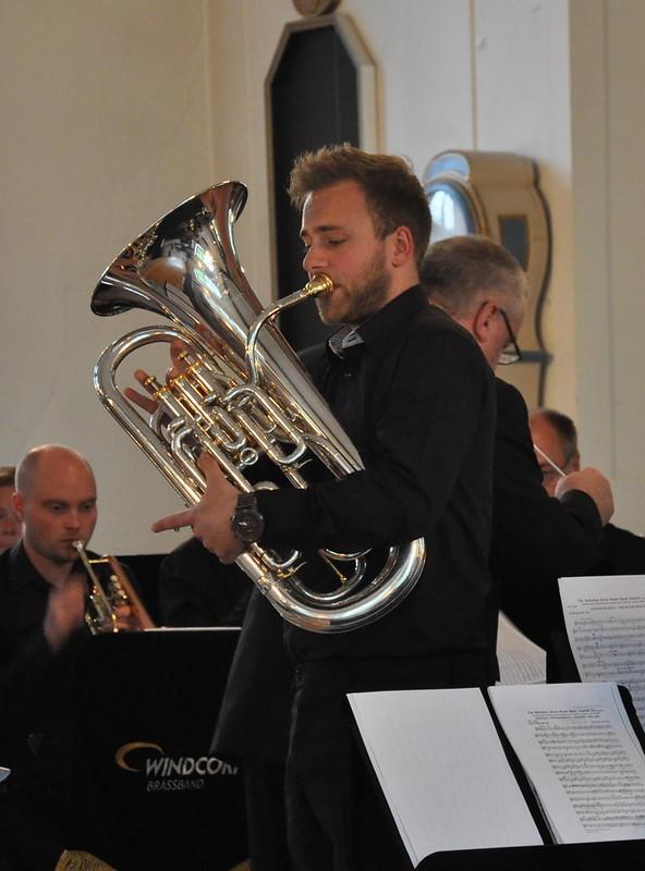 Glenn van Looy i Åsenhöga kyrka