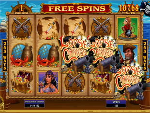 Loose Cannon Free Spins