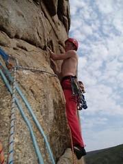 Mike Climbing Image