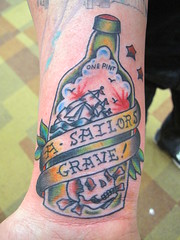 The world 39 s most recently posted photos of americana and for Sailors grave tattoo gallery