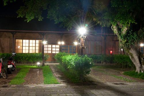 night geotagged view scene ryokan 宿舍 光復糖廠 日式 旅館 和室 花蓮糖廠 japanesehotel geo:tool=yuancc 光復鄉 丁種 geo:lat=23657398 geo:lon=121420174