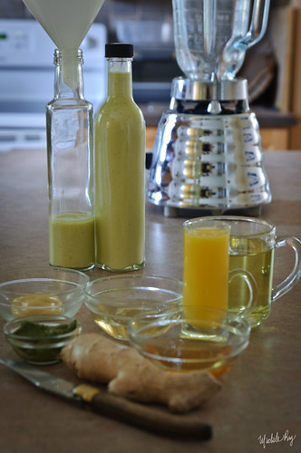Edible Organic Green Tea Vinaigrette Dressing