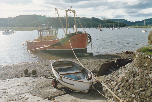 Kippford, July 1991