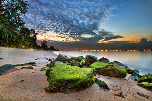 morning travel trees sky seascape beach nature clouds sunrise landscape lights moss singapore rocks sandy scenic tropical hdr eastcoastpark 3xp canoneos7d sigma1020mmf35exdchsm mygearandme sigma50th