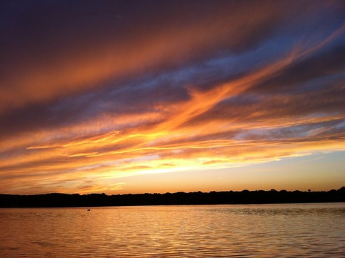 sunset landscape land iphone