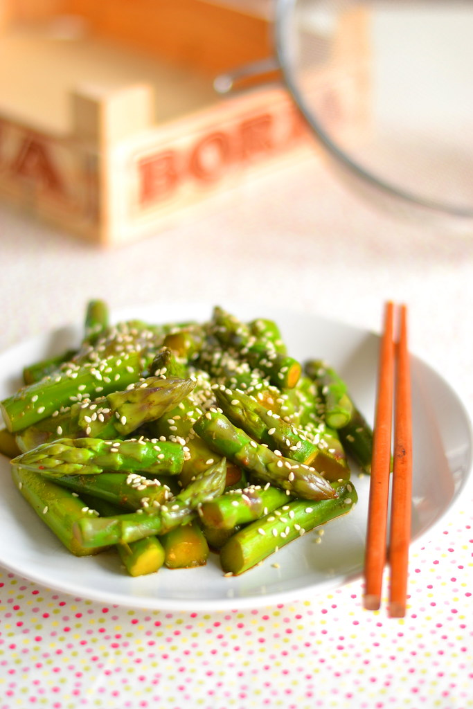 Asparagus shandong style 1