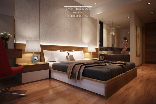 Small Apartment - Bedroom - Interior Design by Santasel