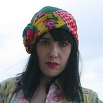 patchwork turban from Etsy