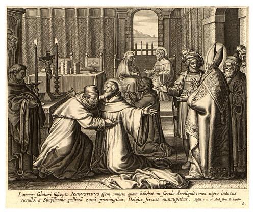 004-Iconographia magni patris Aurelli Augustini…1624-Grabados de Boetius Bolswert- Cortesia de Villanova University