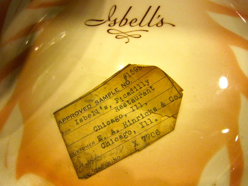 Syracuse China Isbell's Restaurant Chicago Ill