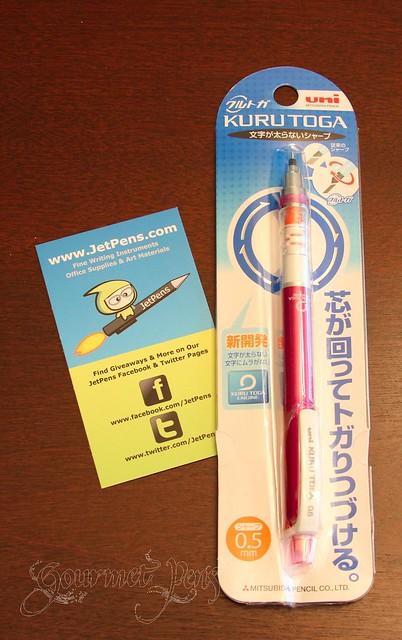 gourmet pens jetpens review uni ball kuru toga 0 5 mm auto lead rotation mechanical pencil