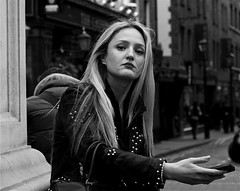 Woman at Seven Dials by Voltaire 2010