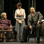 Phylicia Rashad (as Aunt Ester), LisaGay Hamilton (as Black Mary) and Ruben Santiago-Hudson (as Caesar) in the Huntington Theatre Company's production of August Wilson's