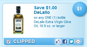 Delallo Extra Virgin Olive Oil, 16.9 Oz. Or Larger  Coupon