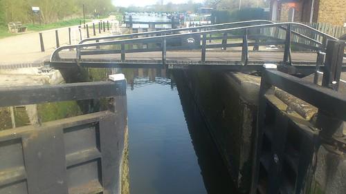 Stanstead Lock. Lee Navigation
